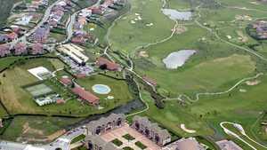 Gorraiz GC: Aerial view