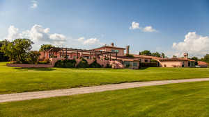 Golf Nazionale: Clubhouse