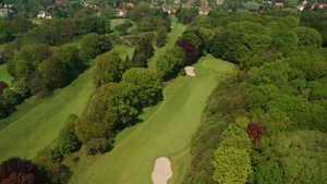Royal Latem GC: Aerial view