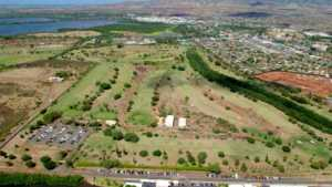 Ted Makalena GC: Aerial view
