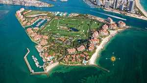 Fisher Island Club: Aerial view