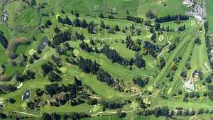 Pukekohe GC: Aerial view
