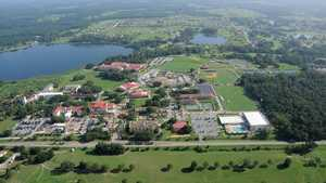 Abbey Course At St. Leo University: Aerial view