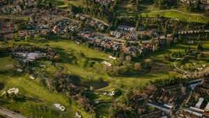 Moraga CC: Aerial view