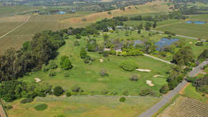Vineyard Knolls GC: Aerial view