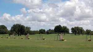 Palmetto Pines GC: Practice area