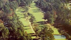 Pinewood GC: Aerial view