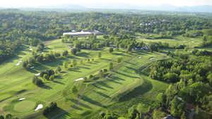 Birdwood GC: Aerial view