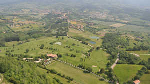 Casentino GC: Aerial view