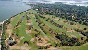Albarella GC: Aerial view
