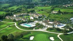 Asolo GC: Aerial view