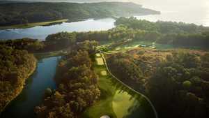 Potomac Shores GC: Aerial view