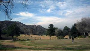 Friendly Valley GC: Practice area
