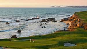 Half Moon Bay Golf Links - Old: #18