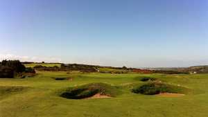 The par-4 15th hole at Southerndown GC