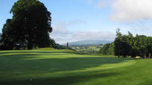 View from 1st Green Borris Golf Club