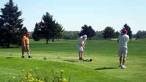 Ridgewood GC: Practice area