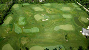 Cantigny Golf - Youth Links: Aerial view