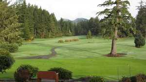 Forest Hills CC: Practice area