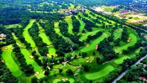 North at Olympia Fields CC: Aerial view