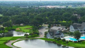 Cress Creek CC: Aerial view