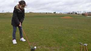Merignies Golf: Driving range