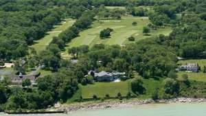 Shoreacres: Aerial view