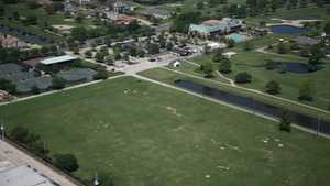 Chateau GCC: Aerial view