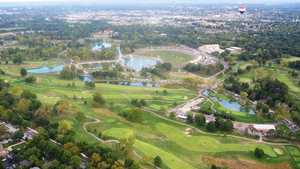 Forest Park GC: Aerial view