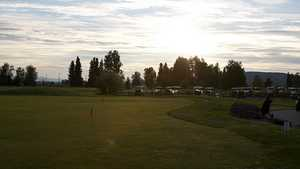 Chena Bend GC: Practice area