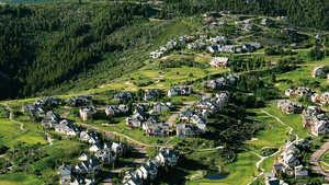 Short at Cordillera GC: Aerial view
