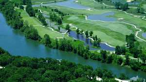 Osage National GC: Aerial view