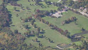 Byrnell GC: Aerial view
