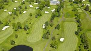 Squires GC: Aerial view