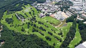 Redgate GC: Aerial view