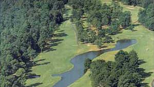 Cooper's Creek GC: Aerial view