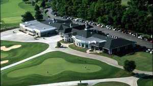 Hermitage GC: Aerial view