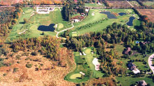 Hawthorne Valley GC: Aerial view