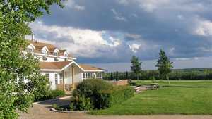 Northern Meadows GC: The clubhouse