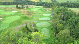 Eagles Glenn GC: Aerial view