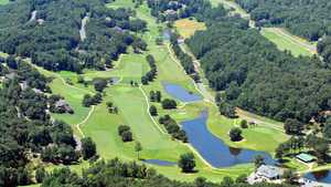Heritage GC: Aerial view
