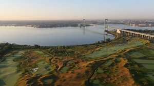 Trump Golf Links at Ferry Point: Aerial