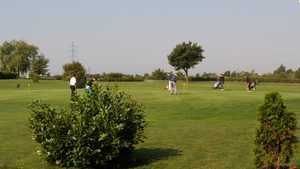 Spillern GC: Practice area