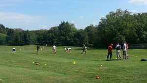 Golf Public des 3 Vallons: Practice area