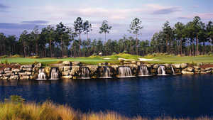 Leopard's Chase Hole #18 Waterfall