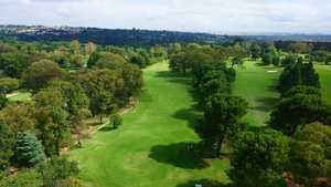Huddle Park Golf & Recreation - Blue: Aerial