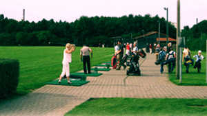 Ford Koeln GC: Driving range