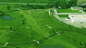 Parkshore GC: Aerial view
