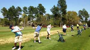 Magnolia Greens GC: Practice area