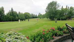 Widnes GC: View from the patio